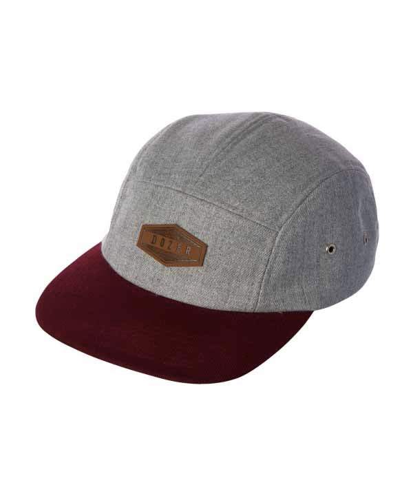 Harley 5 Pannel Cap - Grey