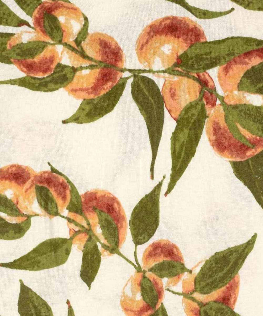 Kerchief Bib - Peaches