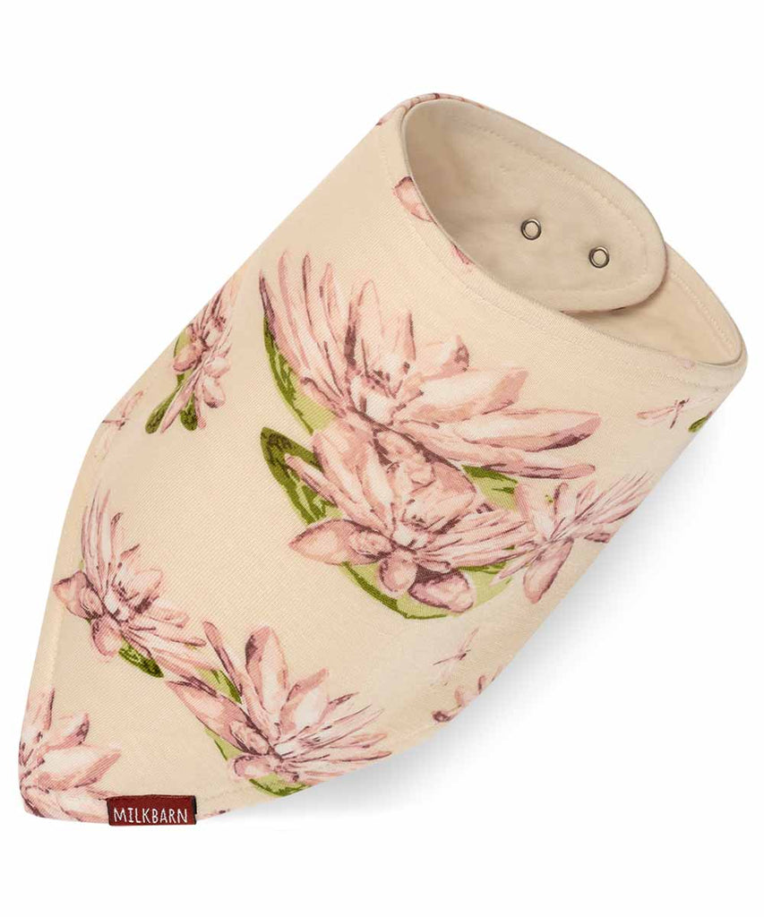 Kerchief Bib - Water Lilly