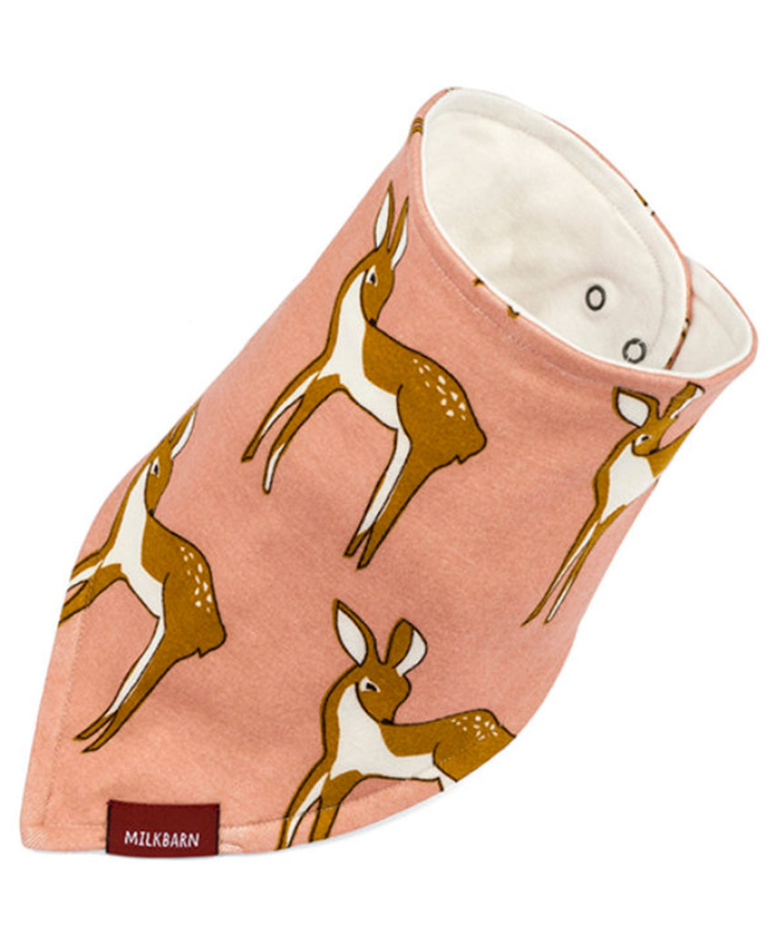 Kerchief Bib - Rose Doe