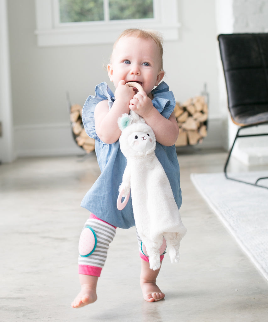 Loretta the Llama Happy Sidekick Teether Toy