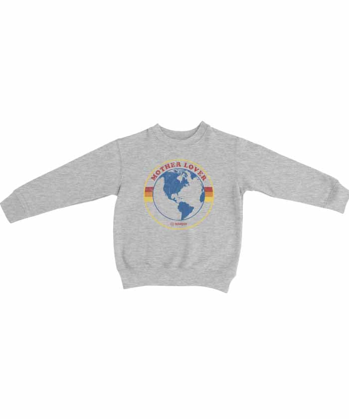 Mother Lover Crew Neck Sweatshirt