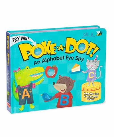 Poke-A-Dot Book: An Alphabet Eye Spy