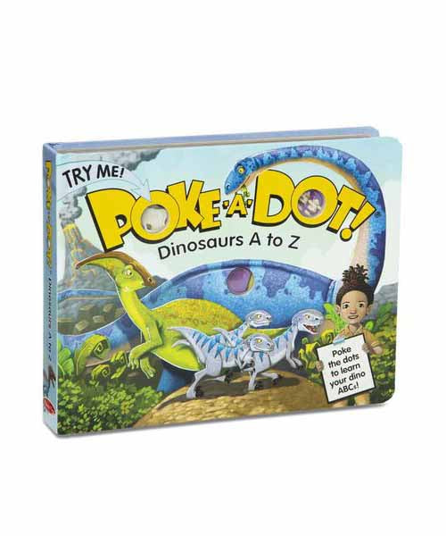 Poke-A-Dot Book: Dinosaurs A to Z