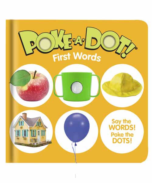 Poke-A-Dot Book: First Words