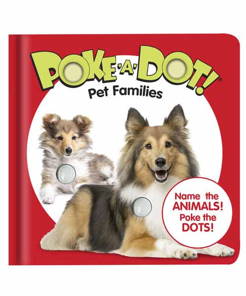 Poke-A-Dot Book: Pet Families