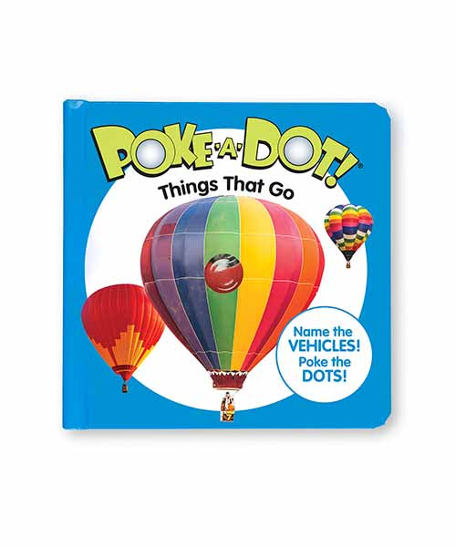 Poke-A-Dot Book: Things that Go