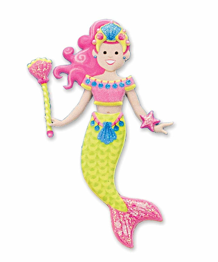 Puffy Sticker Play Set - Mermaid