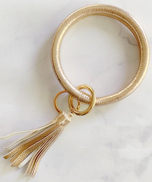 Keychain Bangle - Rose Gold