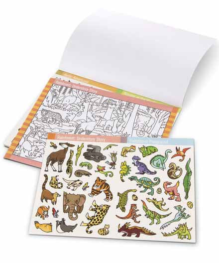 Seek & Find Sticker Pad - Animal