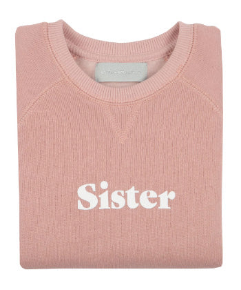 Sister Sweatshirt - Faded Blush