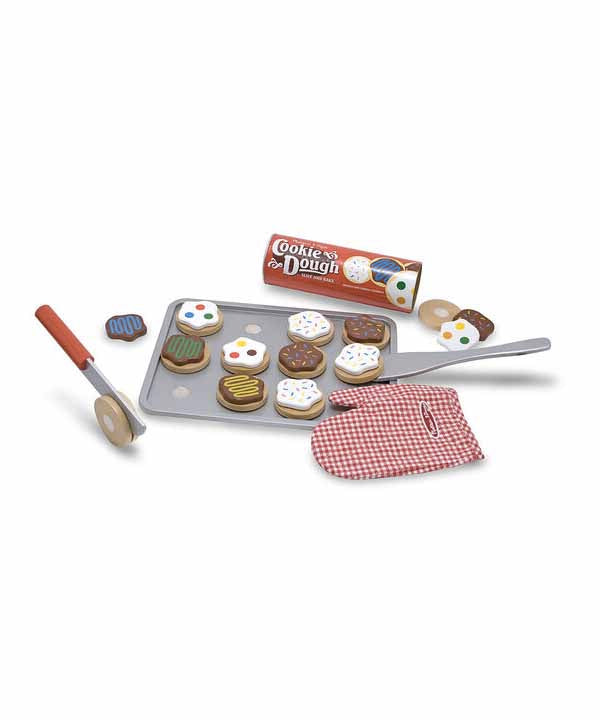Slice & Bake Cookie Set - Wooden Play Food
