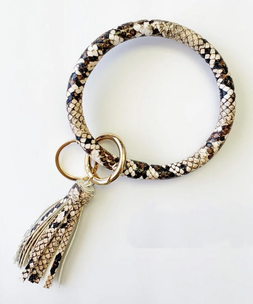 Keychain Bangle - Snakeskin