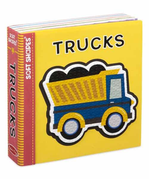 Book of Soft Shapes - Trucks