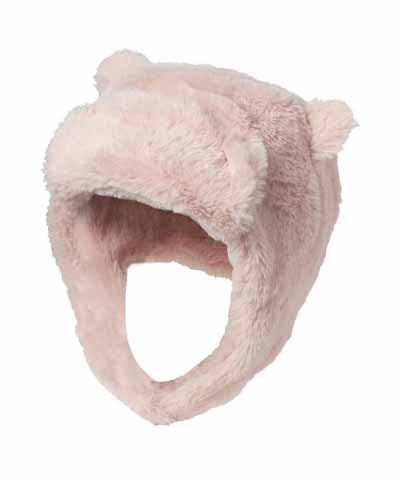 Pea Trapper Hat - Pink