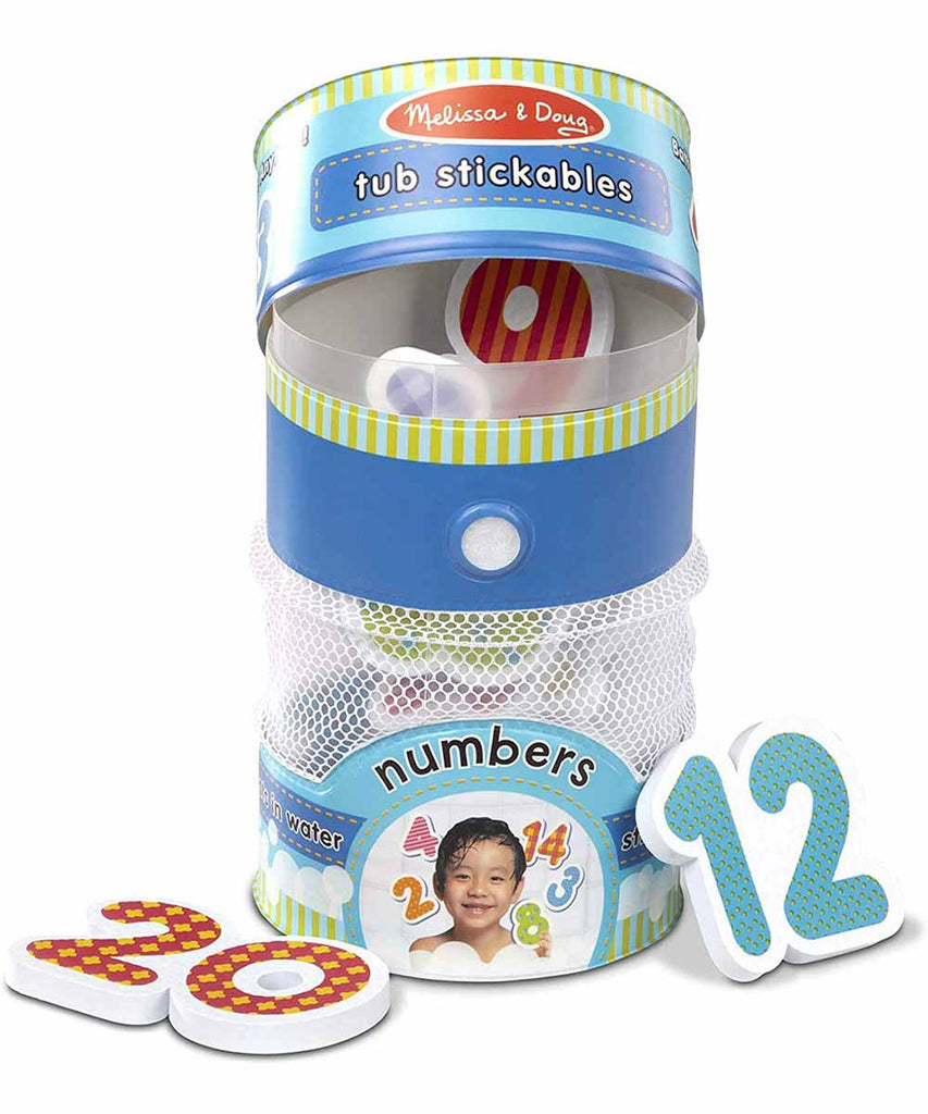 Tub Stickables - Numbers