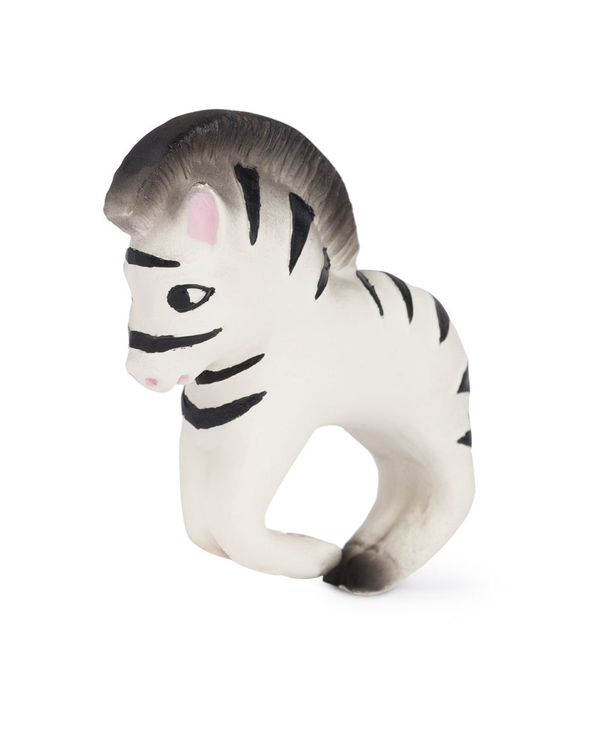 Zoe the Zebra Bracelet Teether Toy