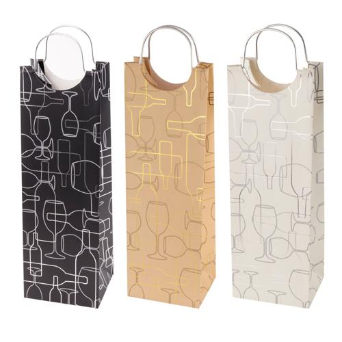 Assorted Silhouette Wine Bag by Cakewalk - Wine Craft