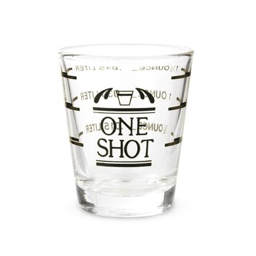 Bullseye: Measured Shot Glass - Wine Craft