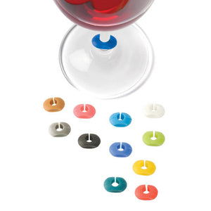 Wine-O™: Silicone Wine Charms - Wine Craft