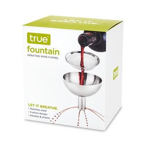 Fountain: Aerating Decanter Funnel - Wine Craft