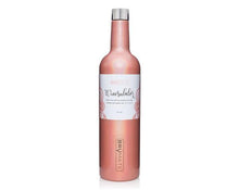 WINESULATOR GLITTER PEACH