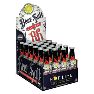 Hot Lime Beer Salt Counter Display
