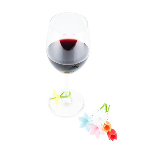 Bouquet: Flower Wine Charms - Wine Craft