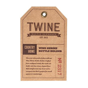 Country Home: Wine Shrine Bottle Holder - Wine Craft