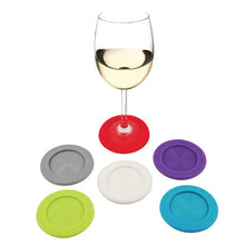 Slip-On: Silicone Coaster Charms - Wine Craft