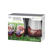 WHIRL™ BPA Free Plastic Aerating Cups