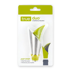 Duo™: Stopper & Pourer