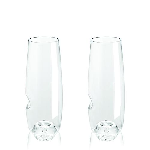 Govino dishwasher safe 8 oz flute (set of 2)