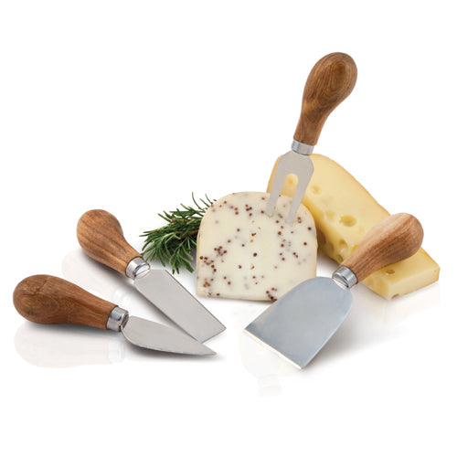 Rustic Farmhouse: Gourmet Cheese Knives - Wine Craft