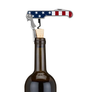 American Flag Corkscrew - Wine Craft