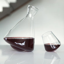 Raye: Crystal Rolling Decanter - Wine Craft