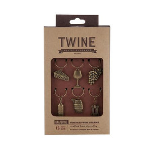 Grapevine Vineyard Wine Charms - Wine Craft