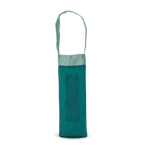 Trek: Green Ripstop Nylon Wine Bag