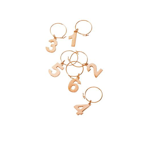 Belmont™ Gold Plated Wine Charms - Wine Craft