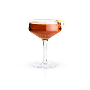 Raye: 7oz. Crystal Coupe Glass