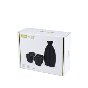 Moga™: 5-Piece Sake Set in Black