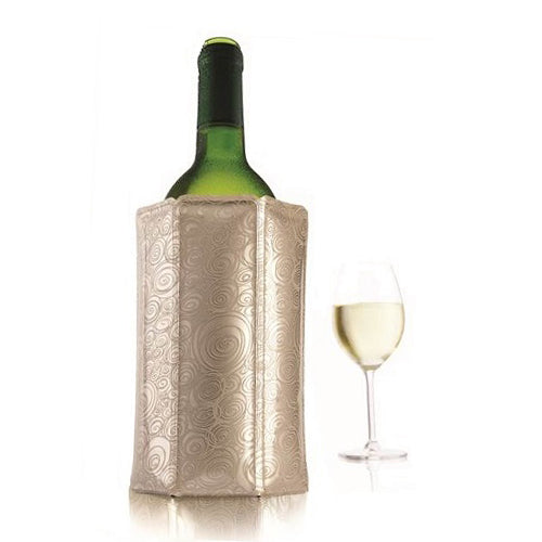 Vacu Vin Active Wine Chiller - Platinum - Wine Craft