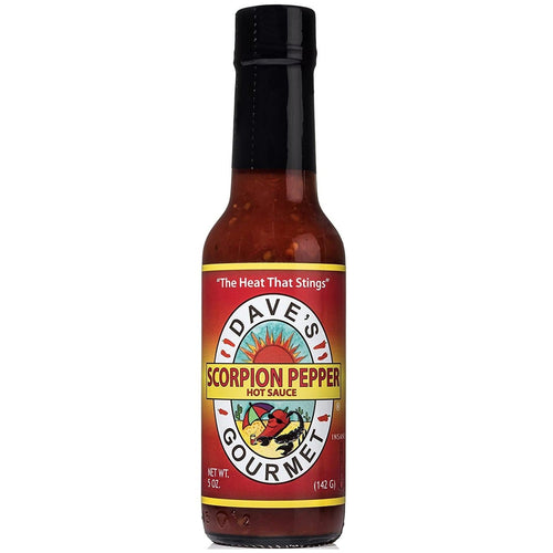 Dave's Scorpion Pepper Sauce