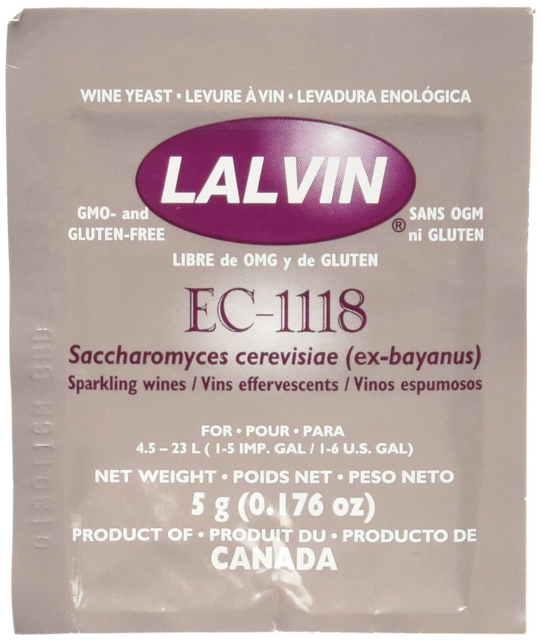 EC-1118 Wine Yeast - Wine Craft