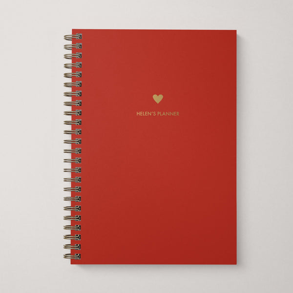 Message And Icon Modular Planner Notebook - And So They Made