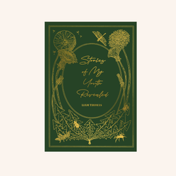 Vintage Style Title And Author Meadow Notebook