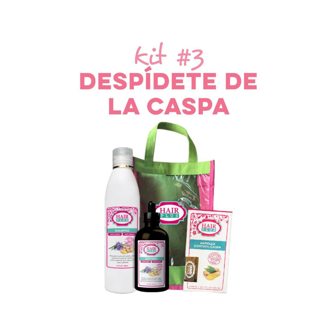 Kit #3 DESPÍDETE DE LA CASPA