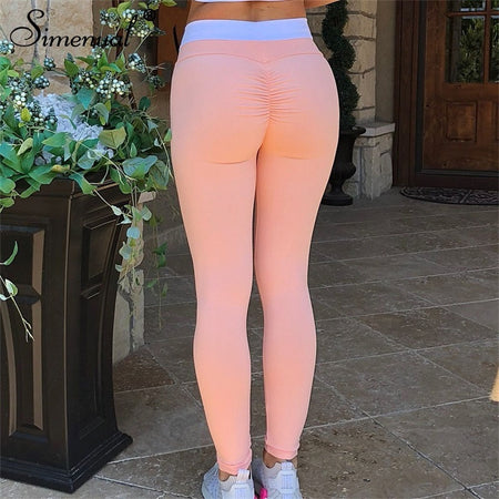 Crisscross Push Up Leggings