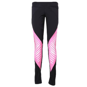 Pink & Black Push Up Leggings