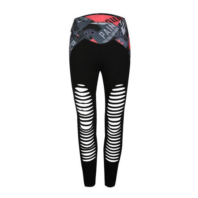 Hollow Out Fitness Leggings
